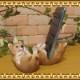 リアルな犬の置物 柴犬 スマホスタンド ドッグ お部屋のインテリアにお庭のオーナメントとしても♪  子いぬのフィギア ガーデニング オブジェ 玄関先
