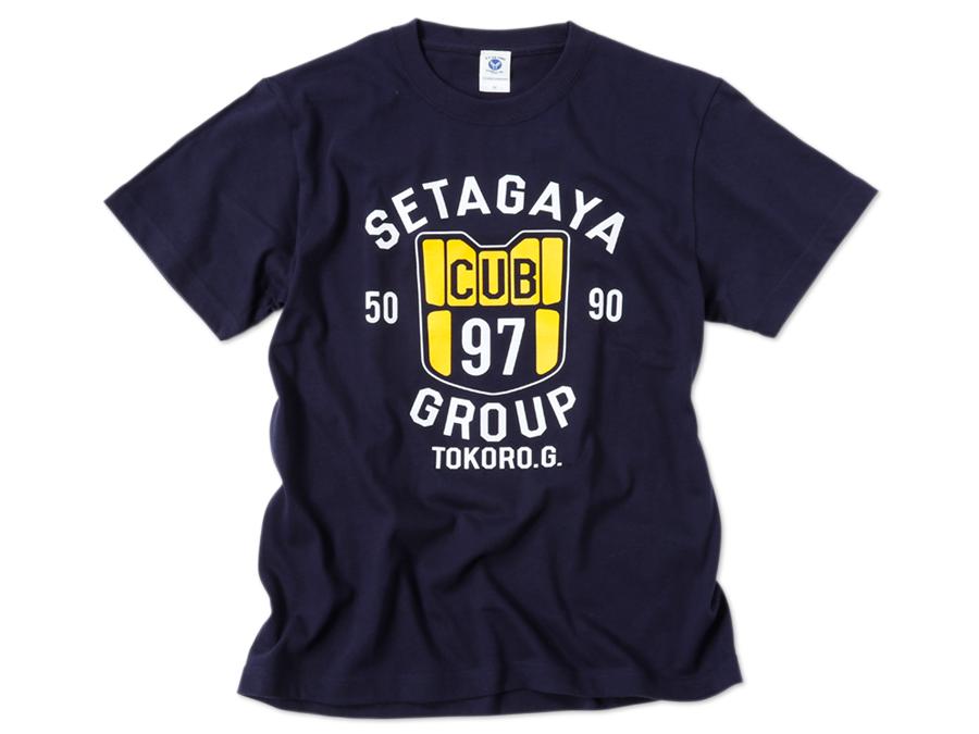 世田谷カブグループ Tシャツ ネイビー / 世田谷ベース