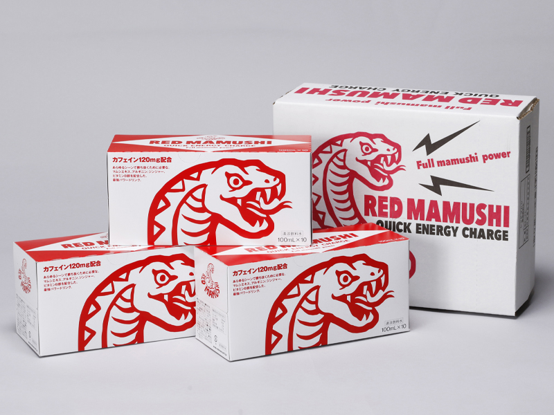 RED MAMUSHI 100ml×30本 / レッドマムシ エナジードリンク