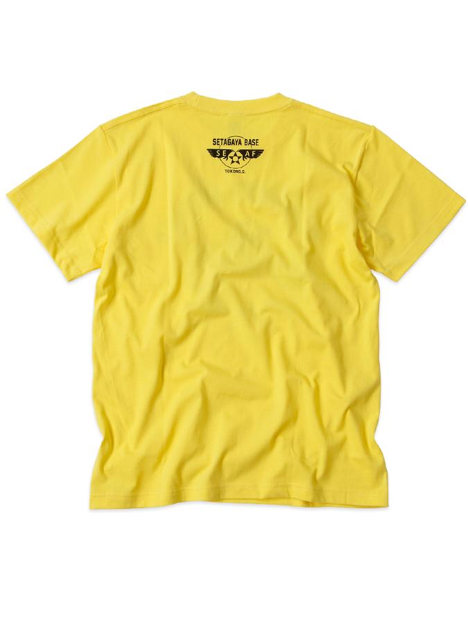 BM davulyun Tシャツ  イエロー / 世田谷ベース