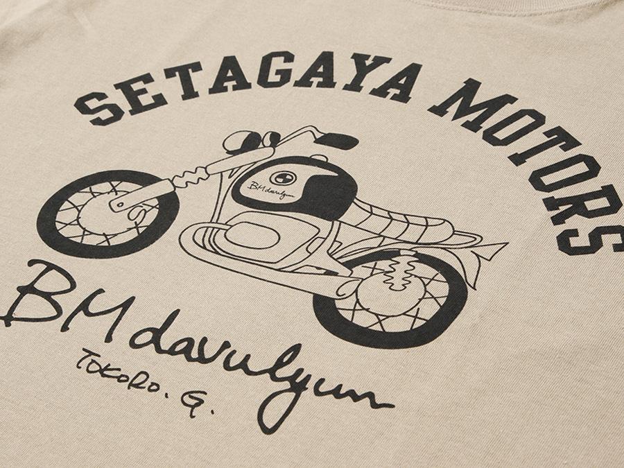 BM davulyun Tシャツ  カーキ / 世田谷ベース