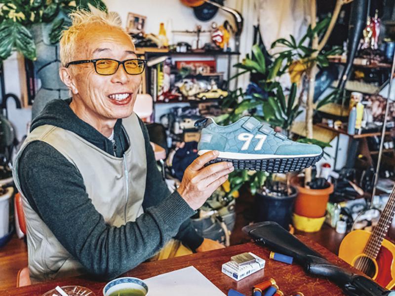 97CHANNEL ベルクロスニーカー ベージュ / 世田谷ベース