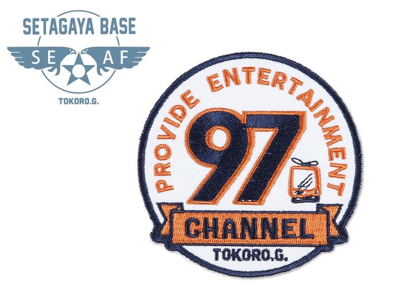 世田谷ベース アイロンワッペン P /  97ch オレンジ