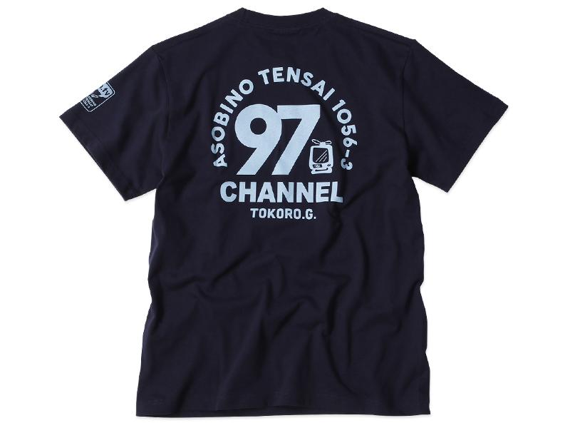 97CHANNEL トコちゃんTシャツ ネイビー / 世田谷ベース