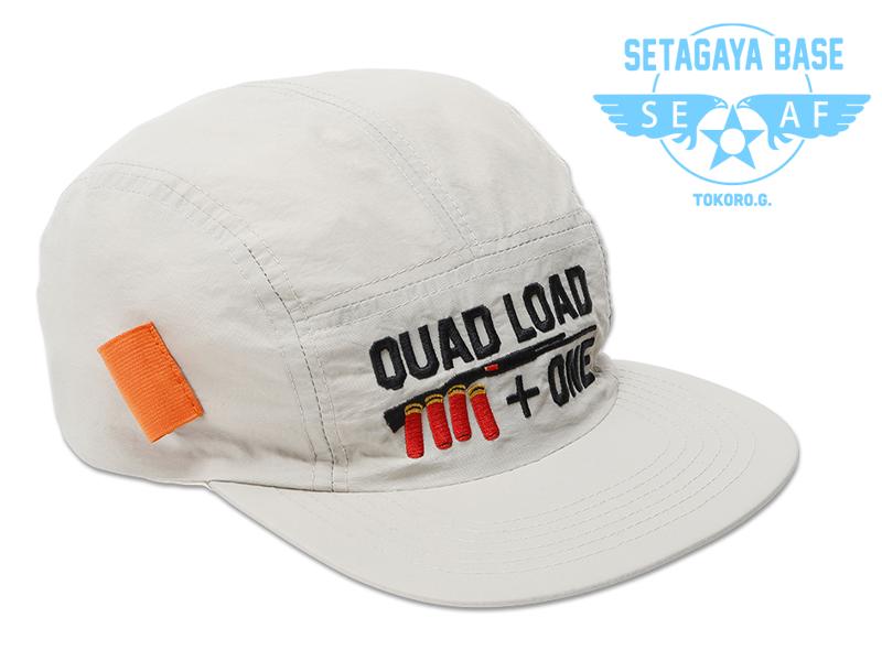 QUAD LOAD ショットガン ジェットキャップ ベージュ / 世田谷ベース