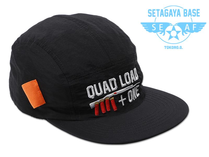 QUAD LOAD ショットガン ジェットキャップ ブラック / 世田谷ベース
