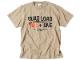 QUAD LOAD ショットガンTシャツ サンドカーキ / 世田谷ベース