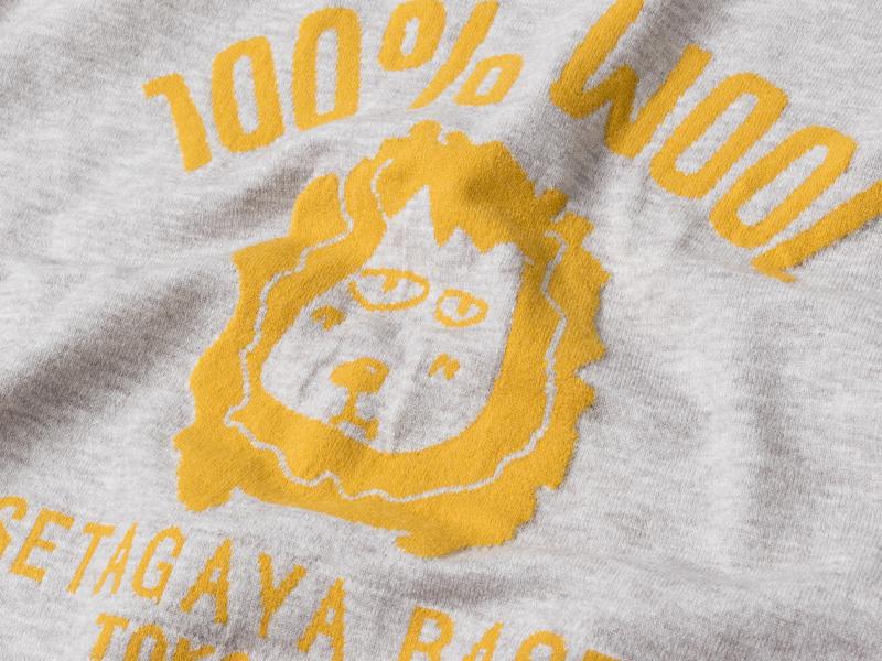 世田谷ベース 100% WOOL セーター