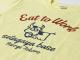 Eat to Work 米食労喜Tシャツ イエロー背中ロゴ / 世田谷ベース