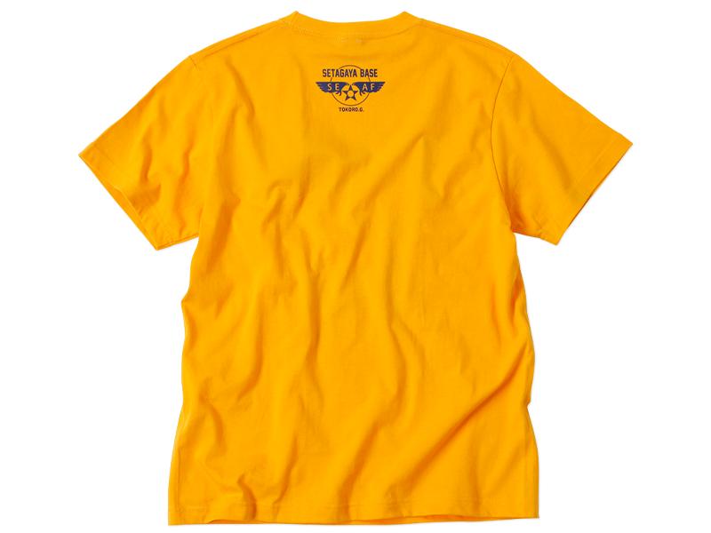 100% WOOL モコモコTシャツ ゴールド/ 世田谷ベース