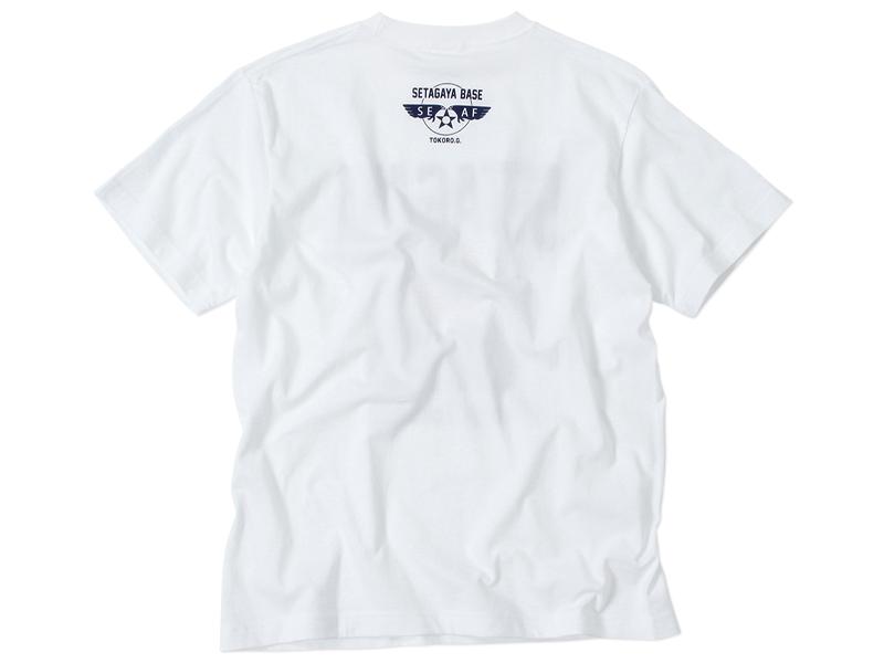 100% WOOL モコモコTシャツ ホワイト/ 世田谷ベース