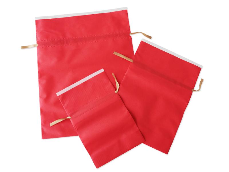 ギフトラッピング レッド (プレゼント包装袋)