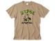 ヒヨエルゴキウサギ Tシャツ Cタイプ サンドカーキ / 世田谷ベース
