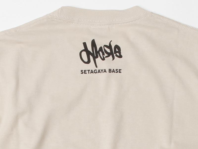 ヒヨエルゴキウサギ Tシャツ Bタイプ サンドベージュ / 世田谷ベース