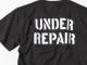 世田谷ベース アンダーリペアTシャツ / ブラック