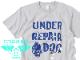 アンダー・リペアドッグ スプラッシュTシャツ ライトグレー /世田谷ベース