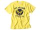 所さんの世田谷ベース エアフォースTシャツ / カラーロゴ(イエローボディ)