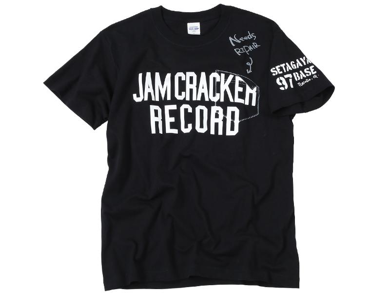 JCR Needs REPAIR Tシャツ ブラック / 世田谷ベース
