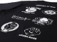 所さんの世田谷ベース ニューエアフォースTシャツ / スペシャルVer. ブラックボディ