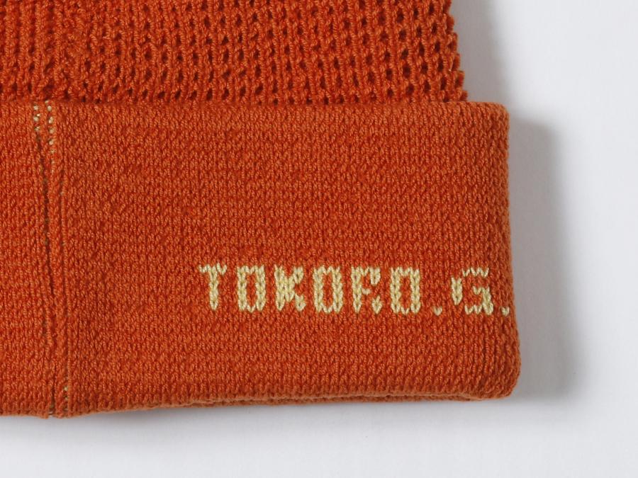 世田谷ベース ロゴ・ニットキャップ / オレンジ