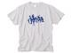 横たわる喜び Tシャツ ライトグレー / 世田谷ベース
