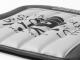 世田谷ベース ドライバーズ・シートクッション / ブラック×ホワイト