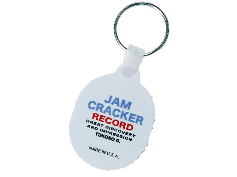 【在庫一掃蔵出しセール】Jam Cracker Record オフィシャルキーホルダー No.3
