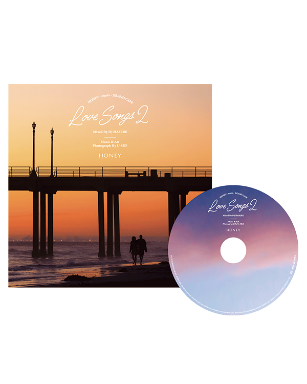 HONEY meets ISLAND CAFE Love Songs 2 mixed by DJ HASEBE