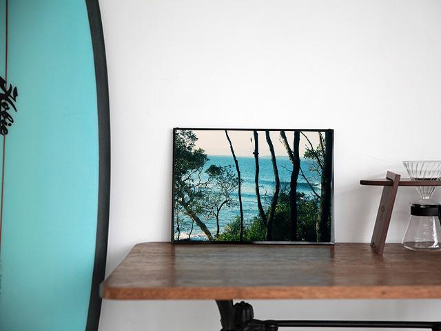 Blue.オリジナル Photo&Frame 「Noosa #1」 Sサイズ
