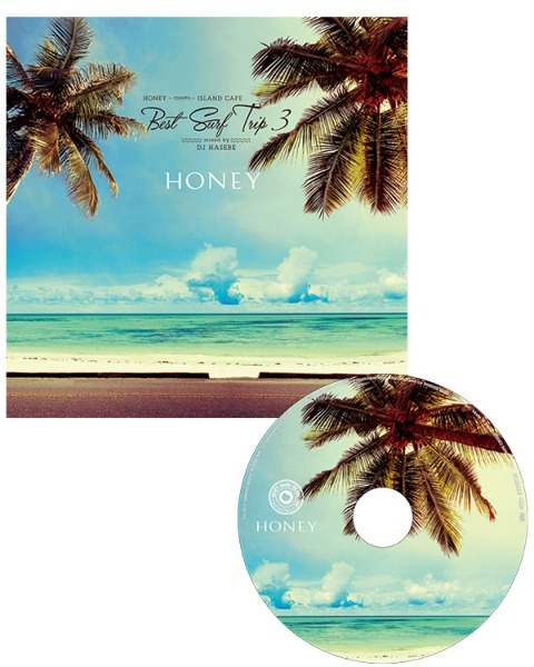 HONEY meets ISLAND CAFE -Best Surf Trip 3-