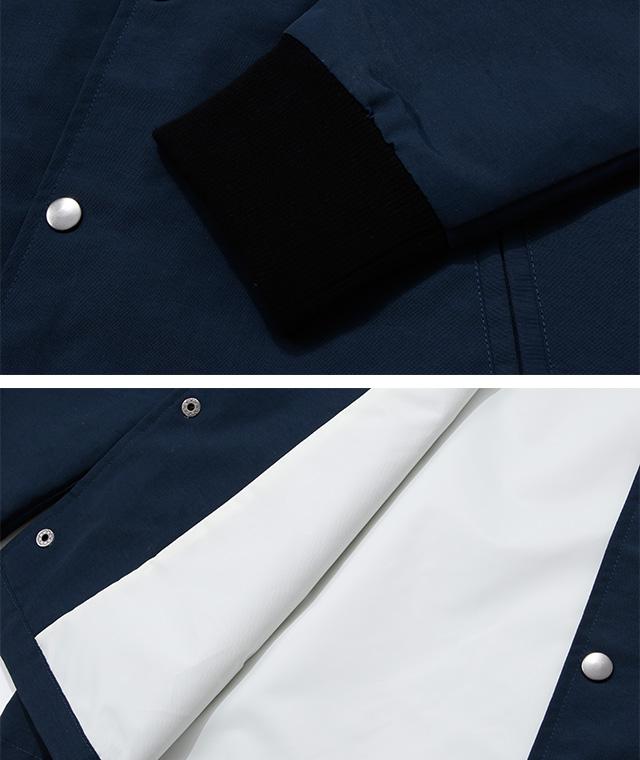 Blue. オリジナル フード・コーチジャケット