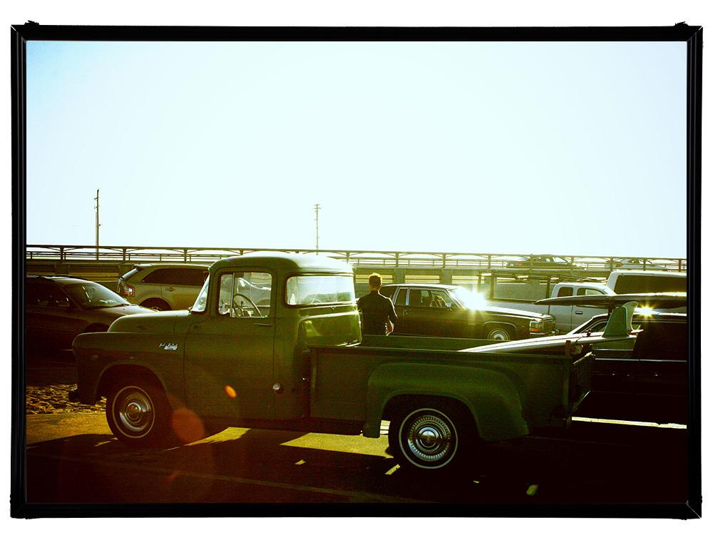 Blue.オリジナル Photo&Frame 「Classic Truck」 Sサイズ