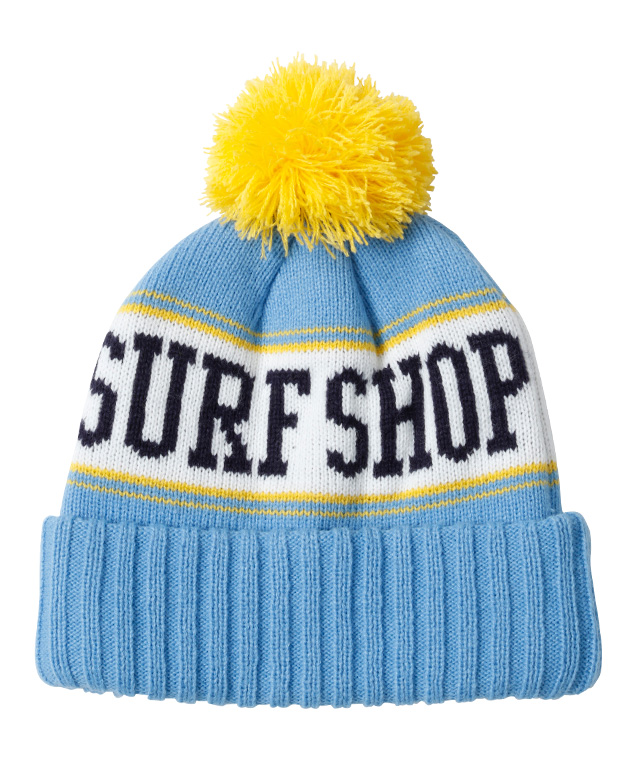 MITCH'S SURF SHOP ニットキャップ&ボードショーツ セット