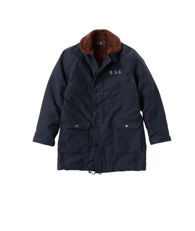 Blue.オリジナル ロング・デッキジャケット