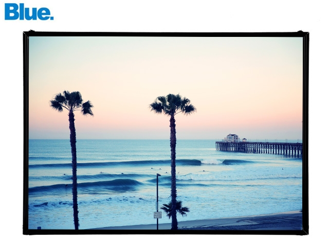 Blue.オリジナル Photo&Frame 「Oceanside CA」 Sサイズ