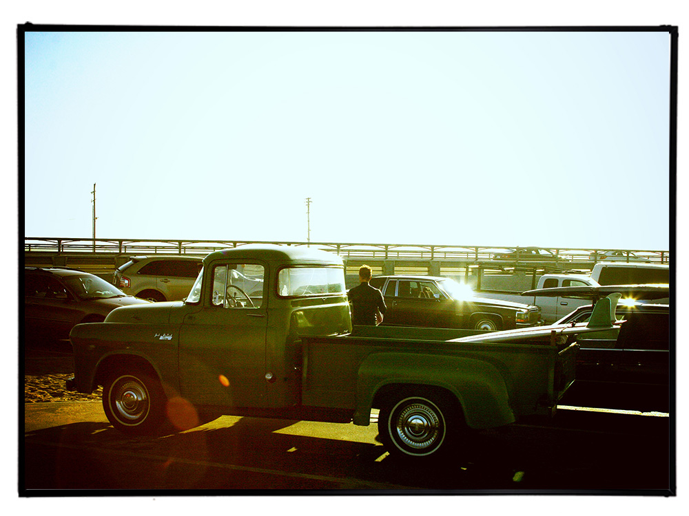 Blue.オリジナル Photo&Frame 「Classic Truck」 Lサイズ