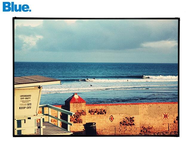 Blue.オリジナル Photo&Frame 「Malibu CA」 Lサイズ
