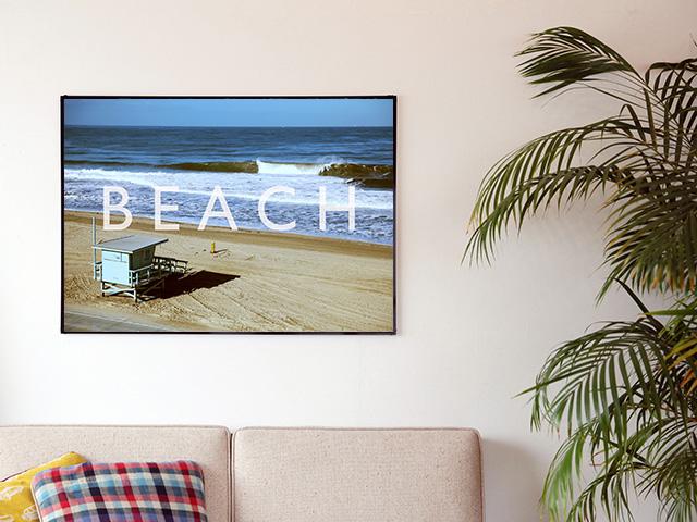 Blue.オリジナル Photo&Frame 「BEACH」 Lサイズ