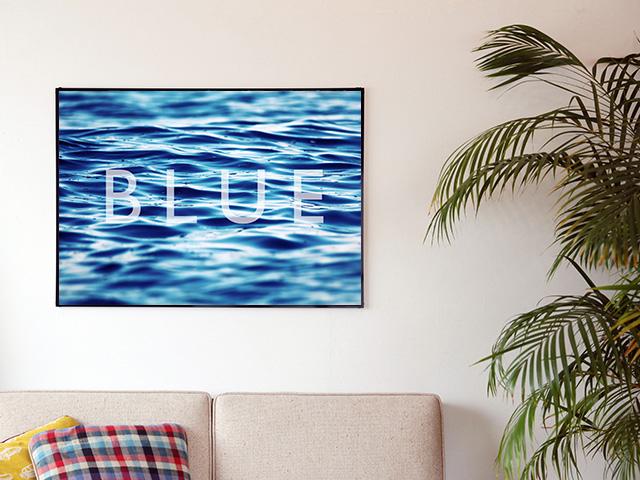 Blue.オリジナル Photo&Frame 「BLUE」 Lサイズ