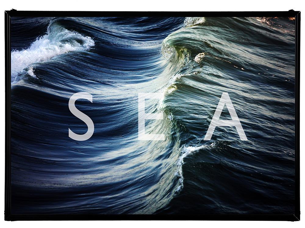 Blue.オリジナル Photo&Frame 「SEA」 Sサイズ