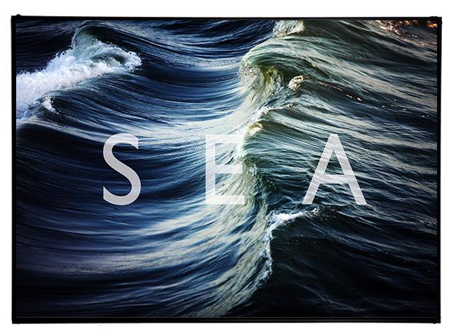 Blue.オリジナル Photo&Frame 「SEA」 Lサイズ