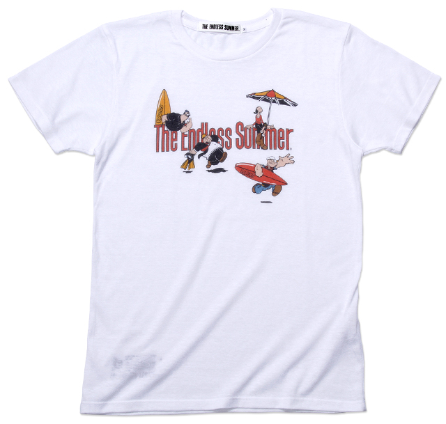 The Endless Summer×POPEYE ロゴTシャツ