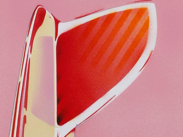 赤池完介×Blue. サーフボード・ステンシルアート シングルフィン 【受注生産品】