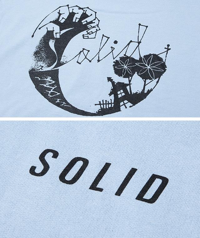 SOLID×Blue. スウェット・パーカ