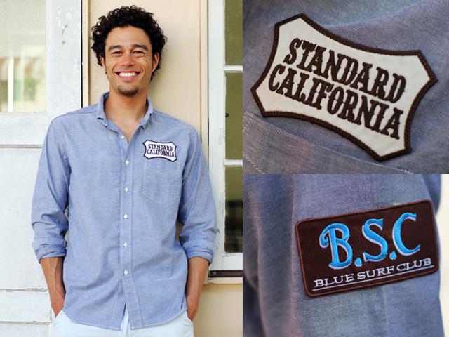 STANDARD CALIFORNIA×BSC オックスフォードB.D.シャツ