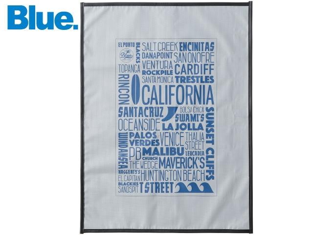 "Blue. Multi Surf Mat ""California"""