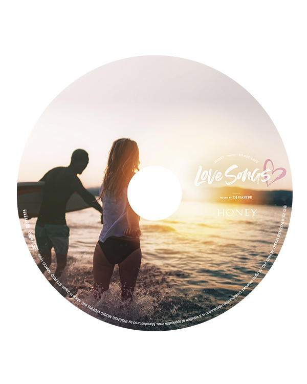 HONEY meets ISLAND CAFE -Love Songs-