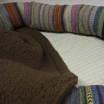 ざっくりインド綿★巨大ベッド