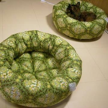 猫の家まるベッド