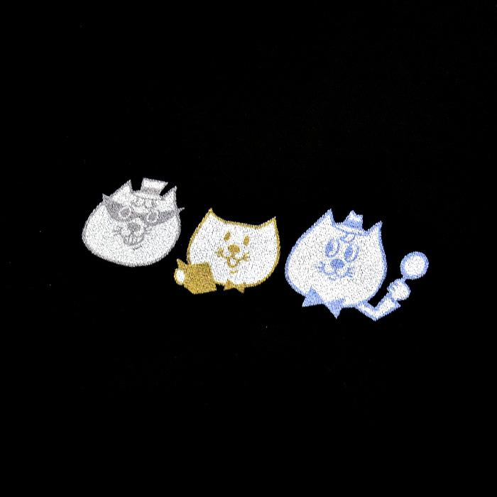 オリジナルTシャツ オリジナルキャラクター【名探偵コラット,助手シャムくん,怪盗ハチワレ】【猫の手】
